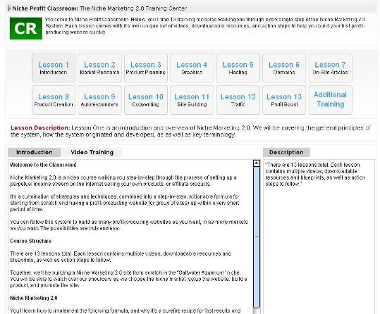 Niche Marketing 2.0 Training Center