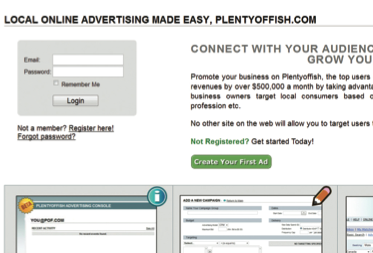 Plenty of fish advertising tips for Plenty of fish search login
